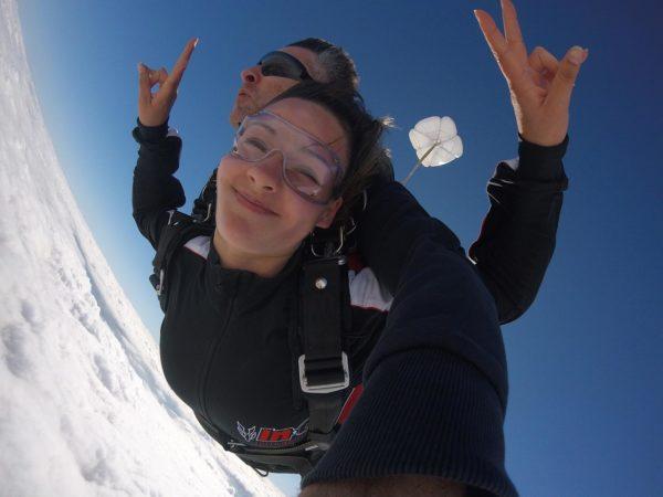 Saut en parachute à Metz et Nancy